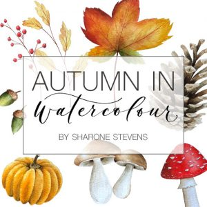 Autumn in Watercolour Class Cover Image