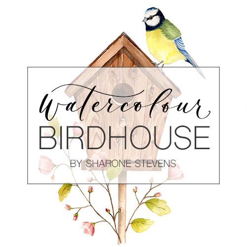 Watercolour Birdhouse Class Cover Image