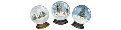 How to Paint Watercolour Snowglobes