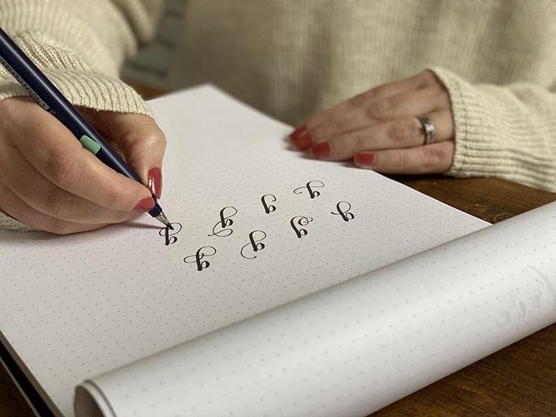 Sharone Stevens Lettering