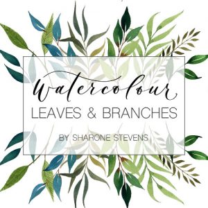 Watercolour Leaves Class Cover Image