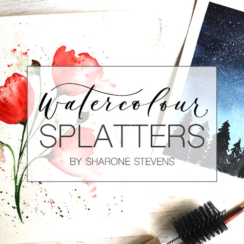 Watercolour Splatters Class Cover Image